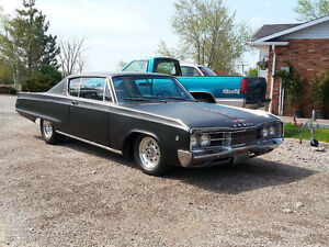 1968 dodge polara 2dr fast top