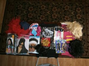 NUMEROUS HALOWEEN COSTUMES AND SUPPLIES
