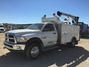 **REDUCED PRICE** 2013 Dodge RAM 5500 SLT Service body/Crane