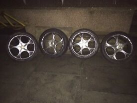 Wolfrace BMW alloys