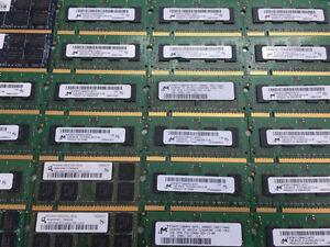 MÉMOIRE  RAM POUR LAPTOP 1GB DDR2 667/5300/800/6400