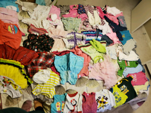 Baby girl clothes 0 to 12 month