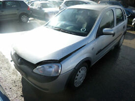 Vauxhall Corsa 1.2i 16v Comfort DAMAGED REPAIRABLE SALVAGE