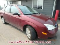 2006 FORD FOCUS 4D
