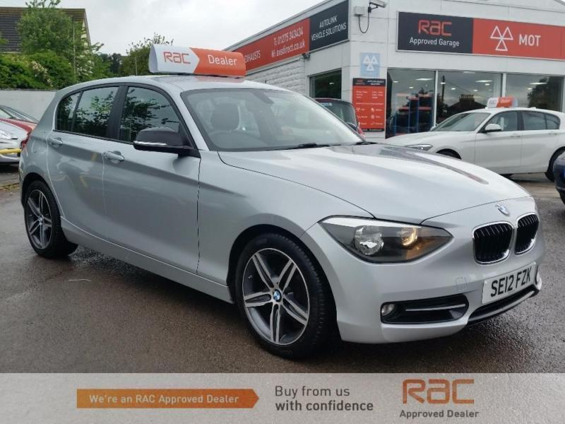 bmw 1 series 116i sport silver manual petrol 2012 in portishead bristol gumtree. Black Bedroom Furniture Sets. Home Design Ideas