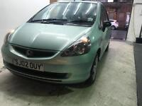 2002 Honda Jazz 1.4 MANUAL1 Year MOT, Service History,Very Clean Car