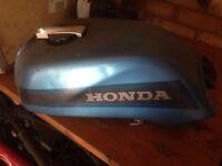 Honda bike petrol tanks