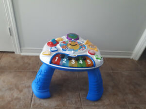 Baby Einstein activity center  & Vtech ride- on