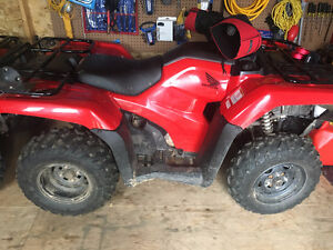 2016 Honda 420 Rancher in mint condition with less then 200km