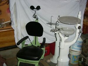 For Sale Vintage Dentist Chair and accesories