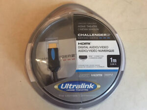 Ultralink Challenger 2 HDMI cable, 1 meter