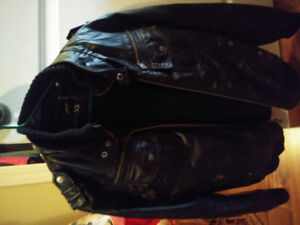 Like New Guess Leather Jacket