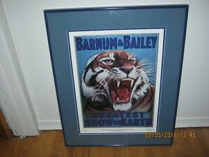 Barnum and Bailey Ltd Edition Print (Frame is 26in x 20.75in)