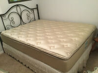 Queen size mattress and headboard for sale