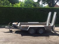 Ifor Williams gh94 2.7 tonne plant trailer