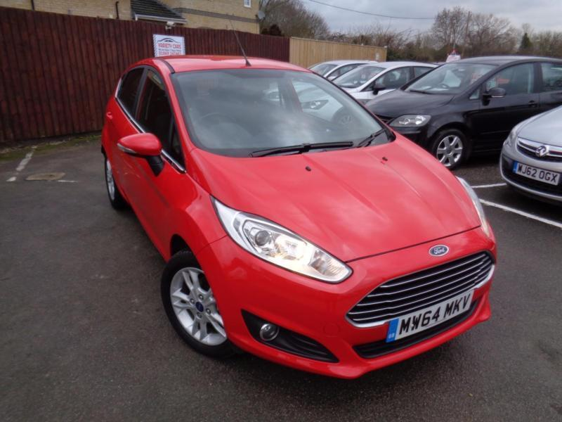 2014 Ford Fiesta 1.0 ( 80ps ) ( S/S ) Zetec (26 Nov 14)