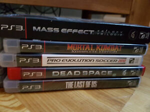 JEUX PS3 À VENDRE / PS3 GAMES FOR SELL