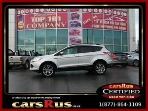 2013 Ford Escape SEL 2 year Unlimited km warranty included!