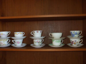 Bone china tea cups made in England