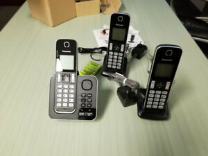 New Panasonic Home Phones 3 Set