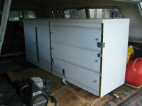 CABINETS AND DRESSER  FOR HOME OR GARAGE