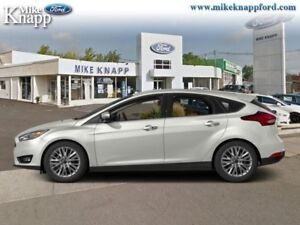 2016 Ford Focus Titanium  - Leather Seats -  Heated Seats
