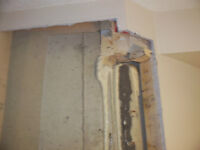 Cracked and leaky basements