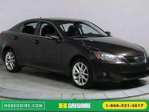 2012 Lexus IS 250 AWD BLUETOOTH GR ELECTRIQUE MAGS