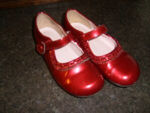 Burgundy Mary Jane Style Dress Shoes Size 11