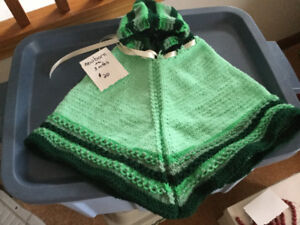 Baby knitted capes