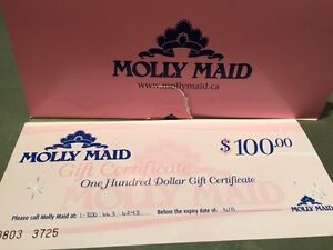 $100 Molly Maid Gift Card