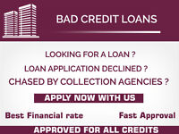 Personal loans for bad credit online !! Apply today