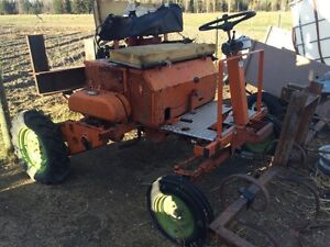 Trade tractor for 15-30 HP diesel motor