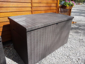 Two Deck Boxes - An Extra-Large and Elegant Storage Box 230G