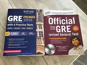 GRE ETS and Kaplan Guide Books London Ontario image 1