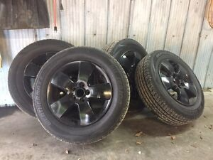Weathermax All-Terrain tires on VW MK4 Rims