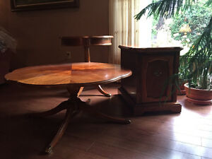 3 solid wood tables $400 together, $150 each
