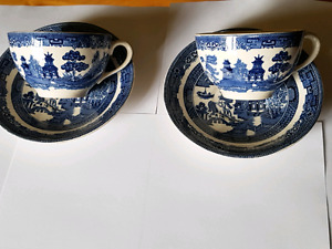 Johnson & Brothers china Blue Willow