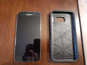 Master Unlocked Samsung S7 with Otterbox. Excellent condition.