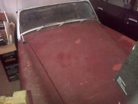 Awesome 1972 MG Midget project, two cars 1000's in parts.