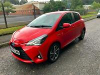 2018 Toyota Yaris 1.5 Hybrid VVT-h Excel E-CVT 5dr Automatic Red