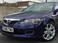 REDUCED!!£2795.00*2006 (56) MAZDA 6 SAKATA D 2.0 DIESEL 5 DOOR HATCHBACK BLUE *LOW MILES*LONG MOT*