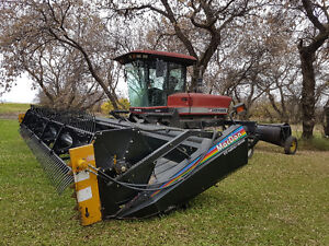 Westward Premier 25' swather, Langbank Sk.