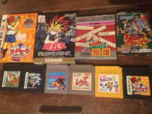 Japan Import Gameboy Games (Pokemon/Zelda)