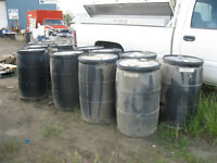 45 gallon plastic drums