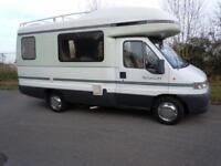 Auto-Sleepers Talisman Pugeot 2.5 MANUAL 2000/W Motorhome/Campervan