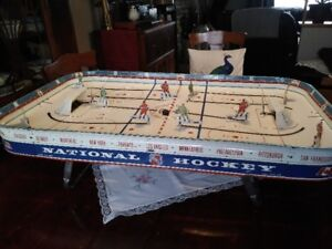 1967 Eagle National Hockey Table Hockey Game