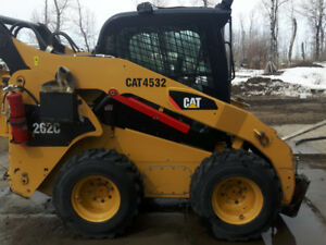 Cat 262C Skid Steer and attachments