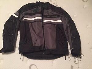 Harley Davidson Textile/Mesh Riding Jacket Like New