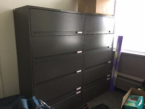 VARIETY OF METAL CABINETS $50 - $175 OBO